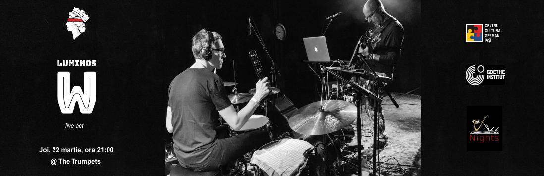 Jazz live cu LUMINOS W